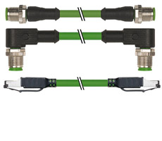 Patchcord (EtherNet-IP, PROFINET)