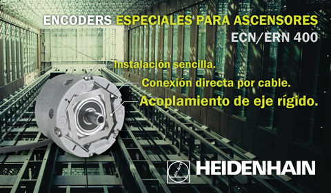 Encoders para ascensores